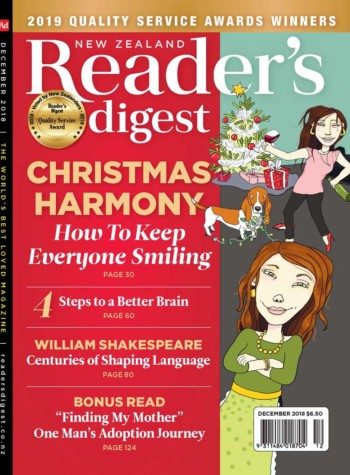 NZ Readers Digest December 2018