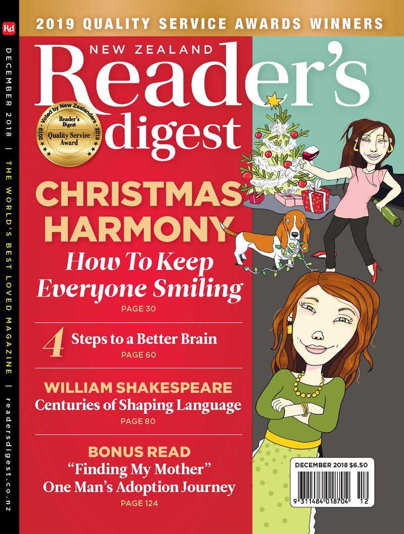 NZ Readers Digest December 2018