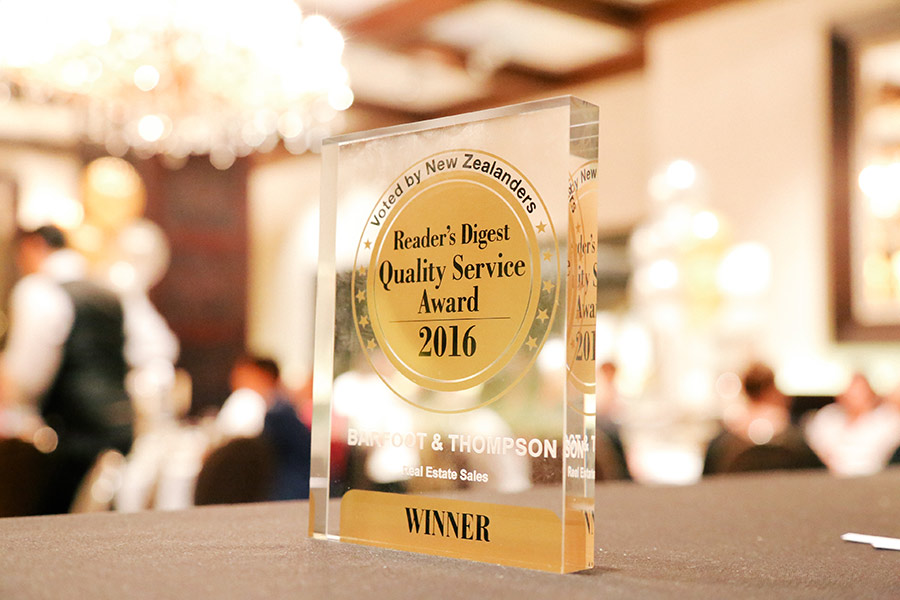 Readers Digest Quality Service Awards 2016