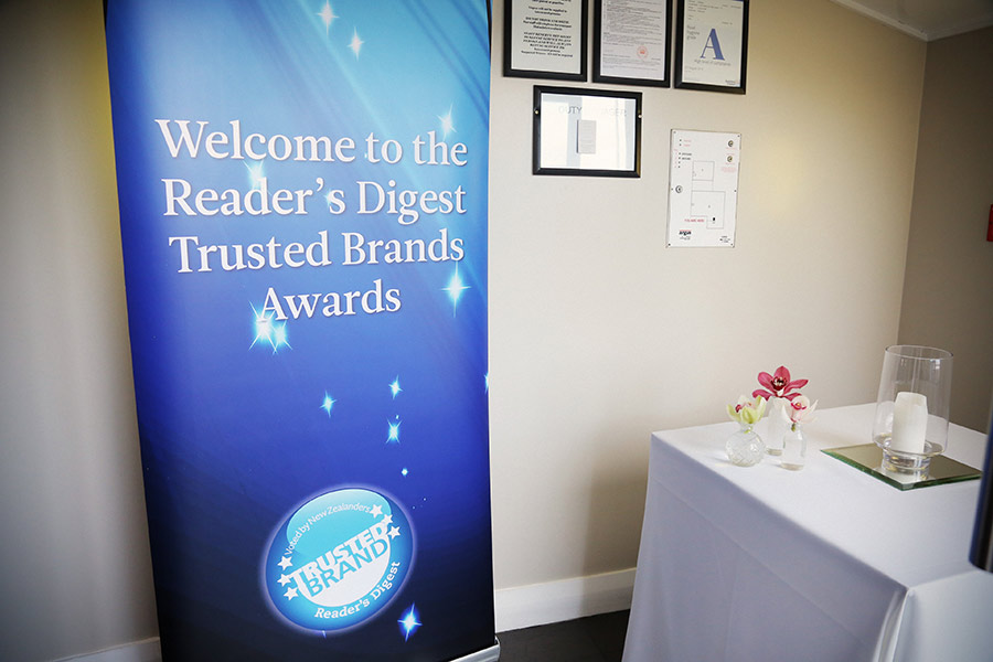 Readers Digest Trusted Brands 2015