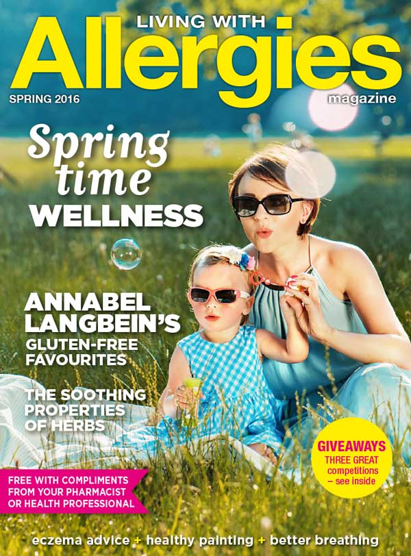Living With Allergies Magazine