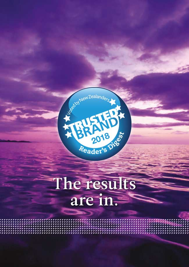 Readers Digest Trusted Brands 2018 Awards