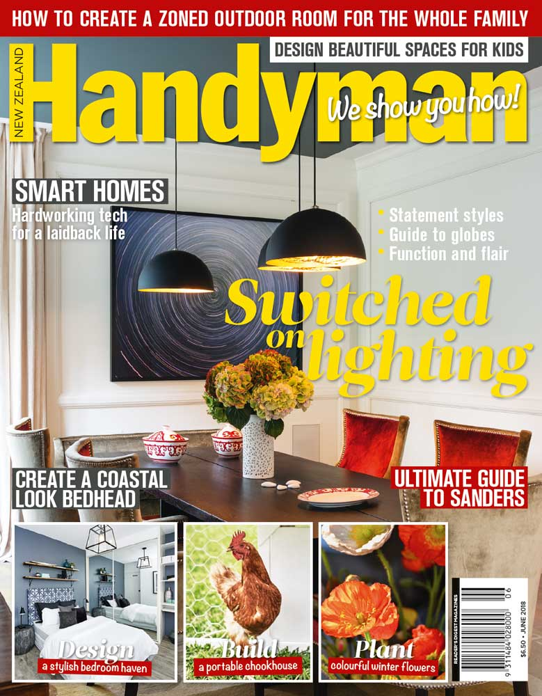 New Zealand Handyman Magazine June 2018