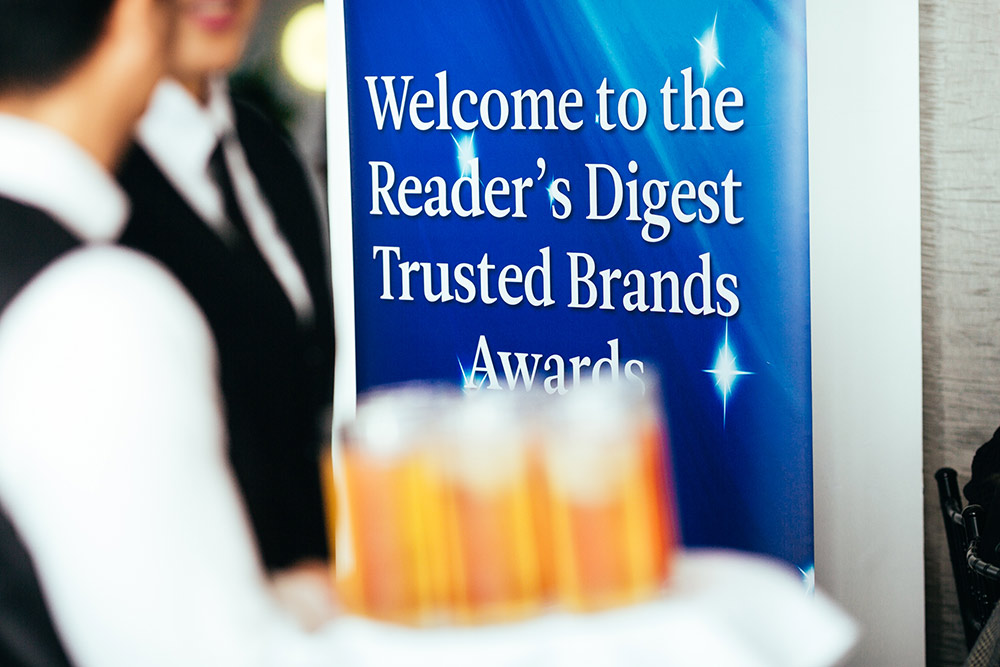 Readers Digest New Zealand Trusted Brands Awards 2019